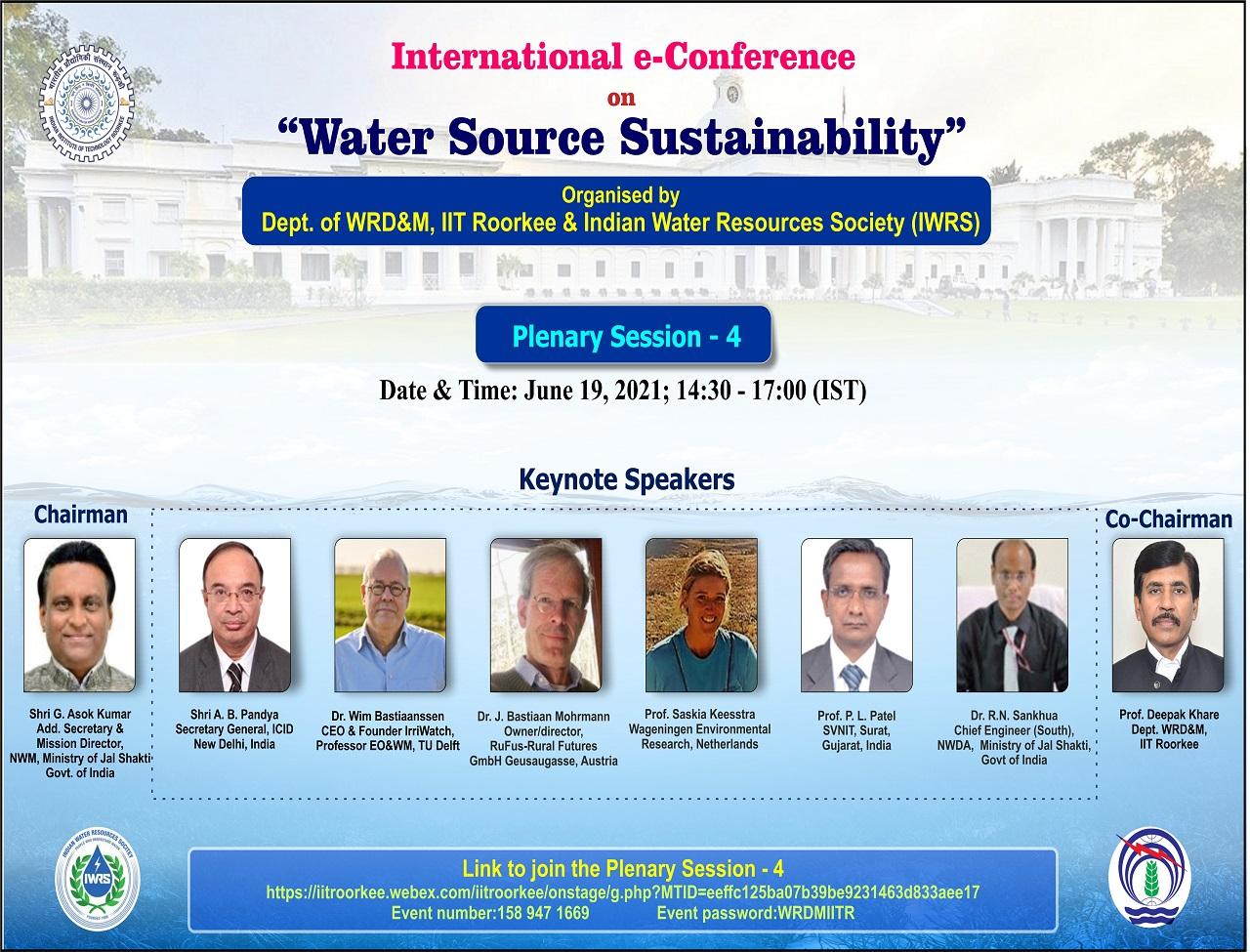 Plenary Session 4