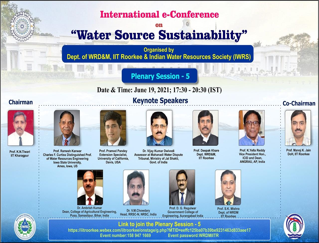 Plenary Session 5